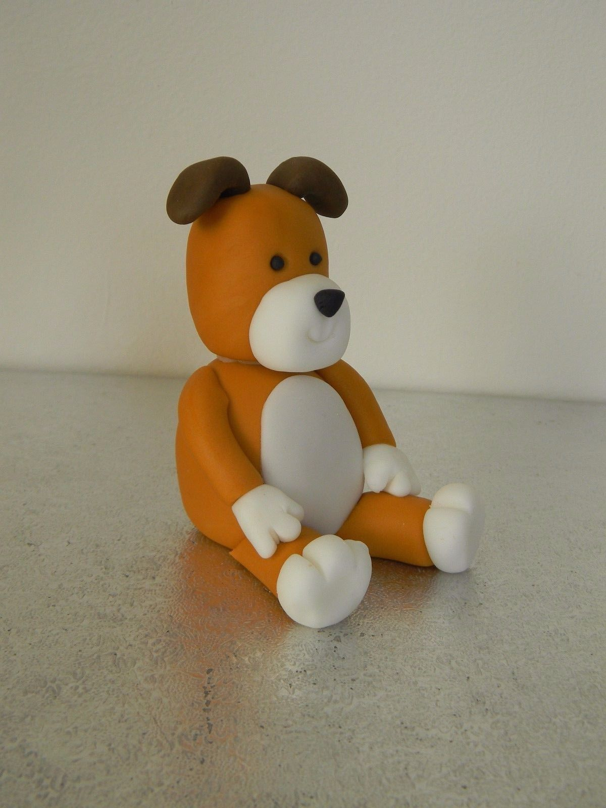 Kipper The Dog Theme Cake Topper